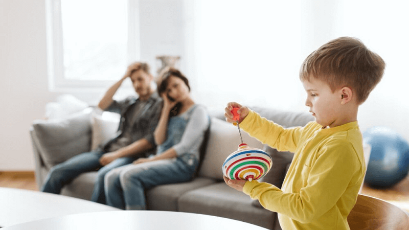 How to deal with hyperactive child at home