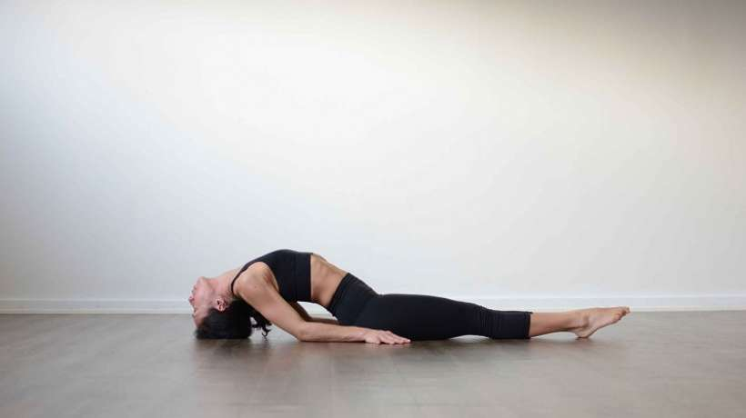 Matsyasana: Fish yoga pose for meditation